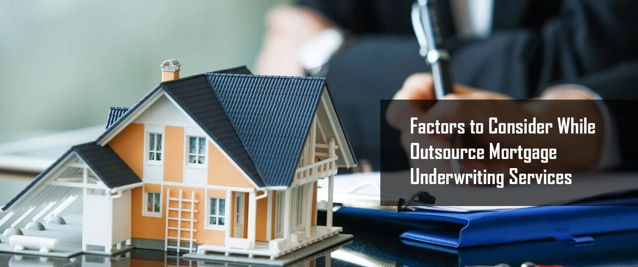 mortgage underwriting service