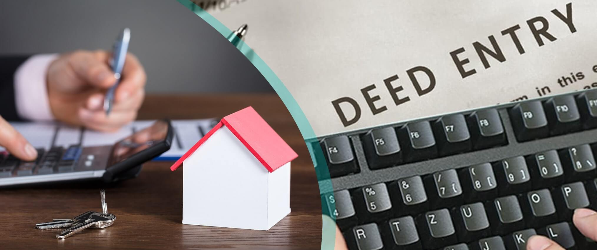 deed entry service